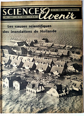 SCIENCES ET AVENIR 3/1953; Les causes scientifique des inondations de Hollande
