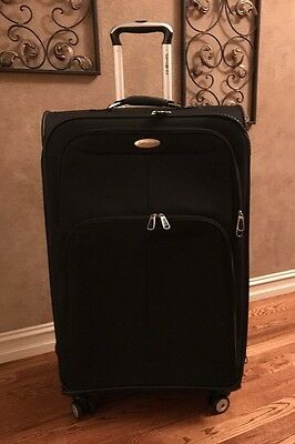 "Samsonite Softside 29"" Spinner Suitcase (Black)"