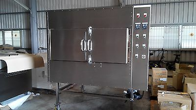 Commercial Rotisserie Wood Fired Smoker & BBQ for Restaurants & Caterers