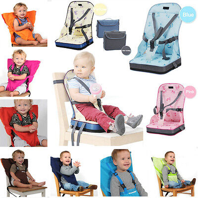 Foldable Portable Baby Toddler Infant Dining Chair Booster Seat Bag Travel Chair