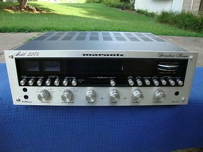 Nice Marantz 2275 Stereo Receiver w/ Phono Output for Turntable - Serviced !!