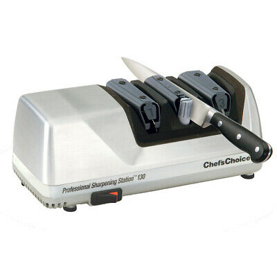 CHEF'S CHOICE PRO ELECTRIC KNIFE SHARPENER 130 SILVER AUST STOCK EdgeSelect