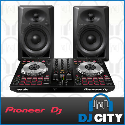 Pioneer DDJ-SB2 Serato DJ Starter Pack with Monitor Speakers and FREE T-shirt