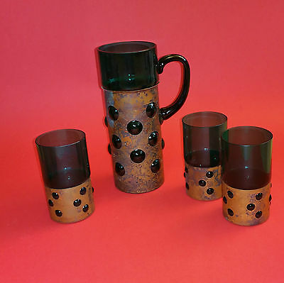 mid century modern Jug and tumblers possibly RAAK Amsterdam Nanny Still