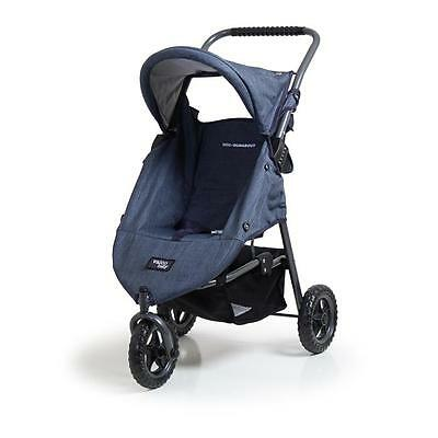 NEW Valco Baby Mini Runabout Doll Stroller - Denim