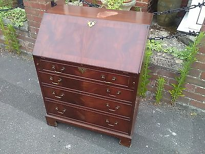Antique style mahogany bureau COLLECTION ONLY
