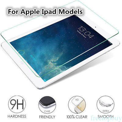 For iPad 12.9/iPad mini 2 3 4/iPad Air 1/2 Tempered Glass Screen Protector VR2