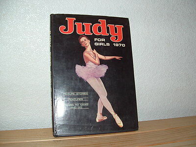 Judy For Girls 1970 Annual