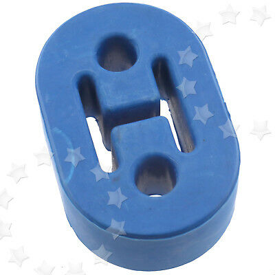 1 x Heavy Duty upgraded Exhaust Hanger Support Bracket Rubber Mount Blue