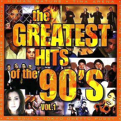 << (90's) THE GREATEST HITS OF THE 90's / VARIOUS ARTISTS - 2 CD SET