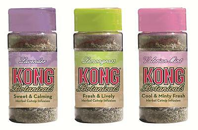 Kong Catnip Botanicals  (Free Shipping in USA) Each Sold Separately