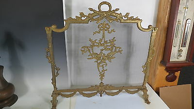 Bronze French style  Fire place screen