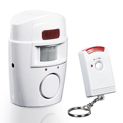 Easymaxx Motion Detector with alarm signal infrared day and night cordless