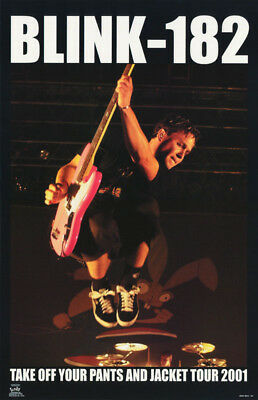 Lot Of 2 Posters : Music : Blink-182 - Tour 2001 -  Free Ship  #6554   Lc6 G