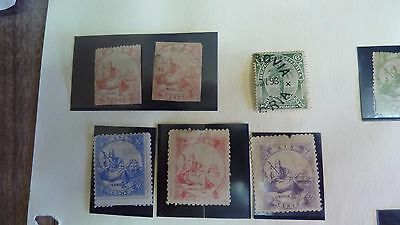 Unusual Collection Of Liberian Stamps