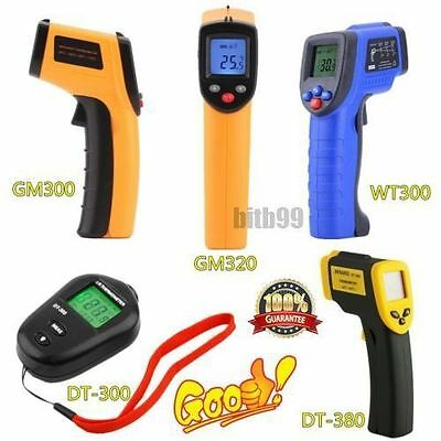 8 Types Non-Contact LCD IR Laser Infrared Digital Temperature Thermometer Gun BG