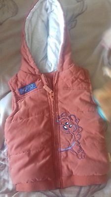 george body warmer 18/24 months ..taz