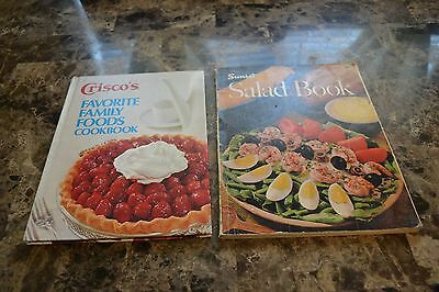 Crisco's Favorite Family Foods Cookbook and Sunset Salad Book