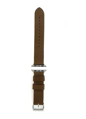 NEW Monowear Brown Genuine leather Apple Watch Band 38 MM MWLTBR20MTSI