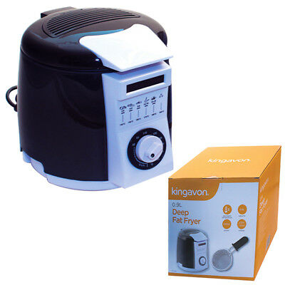 New 0.9 Litre 840W Adjustable Temperature Control Deep Fat Fryer Food Chip Maker