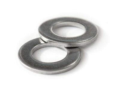 Stainless Steel Flat Washer - Metric M3 M4 M5 M6 M8 M10 M12 DIN 125 A