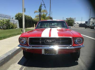 1967 Ford Mustang COUPE 1967 ford mustang v8 289 engine c code