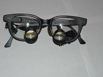 Vintage Medical Loupes Exam Glasses MD