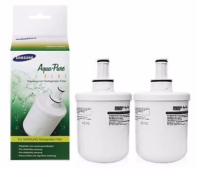 2x Original Samsung DA29-00003F Aqua Pure Plus HAFIN1 EXP Fridge Water Filter