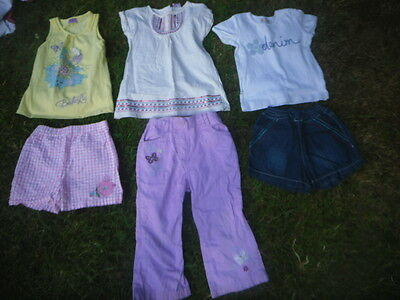 Bundle of 6 Girls Summer clothes Age 18-24 months