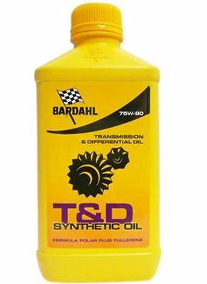 Bardahl T&D 75W90 Synthetic Oil Lubrificante trasmissioni cambi differenz 425140