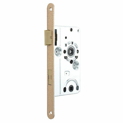 Bathroom Toilet Interior Door Class 1 Mortice Lock Latch - DIN L - Limba ZB5