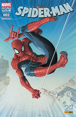 SPIDER-MAN (v6) 2 Couverture exclusive 20 ans PANINI COMICS Clayton Crain Neuf