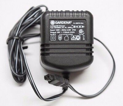 NEW Gardena Charger Power Supply D-89079 Ulm AN1806C 20V 130mA 2.6A