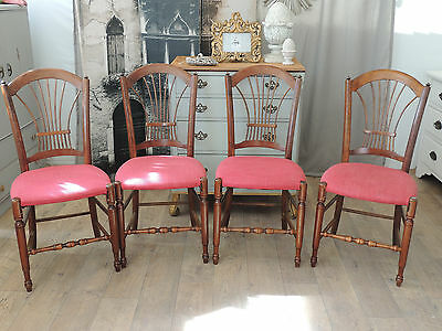 Set of Four Antique Dining Chairs