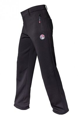 (128, Black) - Nebulus Norvegia Children's Softshell Trousers. Delivery is Free