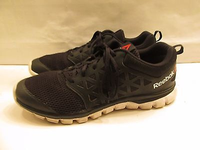 REEBOK SubLite Black Running Shoes Men's Size 13