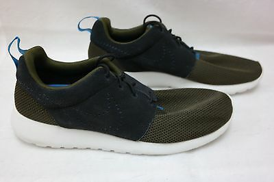 8b3b54878cc9 Mens Nike Roshe One Athletic Casual Shoes 511881-303 Dark Loden Black