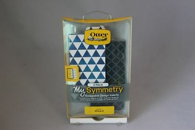OtterBox My SYMMETRY SERIES GRAPHIC INSERT 2Pack for iPhone 6 6s SKY TRIANGLE