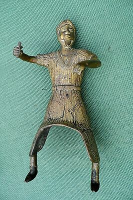 antique Persian brass horseman mystery