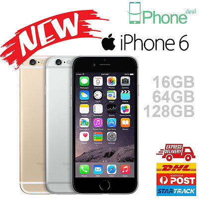 New in sealed box Apple iPhone 6 16GB 64GB 128GB Space Grey Sliver Gold