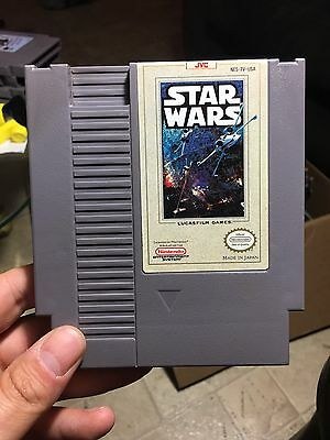 Star Wars (Nintendo Entertainment System, 1991) Nes Lot Games