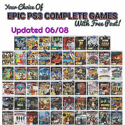 PS3 Choices games