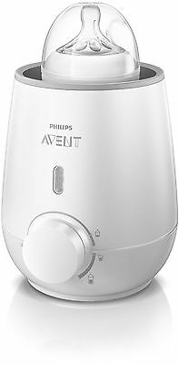 Philips AVENT Baby Bottle Warmer, Fast - Breast Milk and Food Heater/Defroster