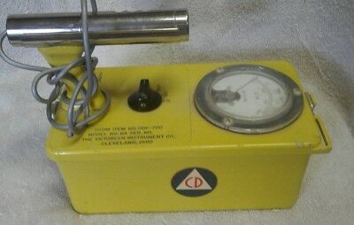 The Victoreen Instrument Company Cdv 700 Model No 6A Gieger Counter Radiological