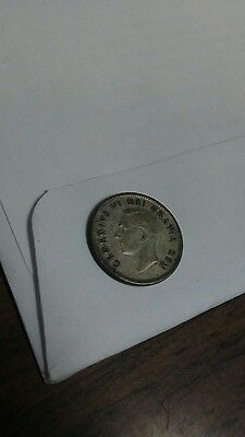 1950 Canada Canadian ten cent coin dime