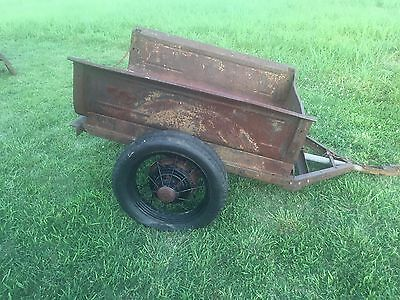 Ford Model A bed