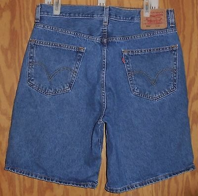 Men's Levi's 550 Relaxed Fit Denim Shorts Size 34