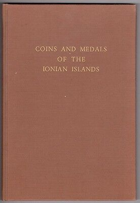 Book, Coins and medals of the Ionian islands. Paul Lambros... FREE SHIPPING