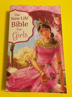 The New Life Bible for Girls (2012, Paperback)