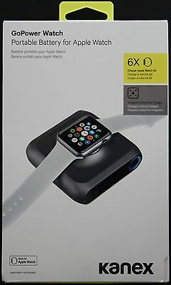 NEW Kanex GoPower Watch Portable 4000 mAh Battery for Apple Watch and iPhone
